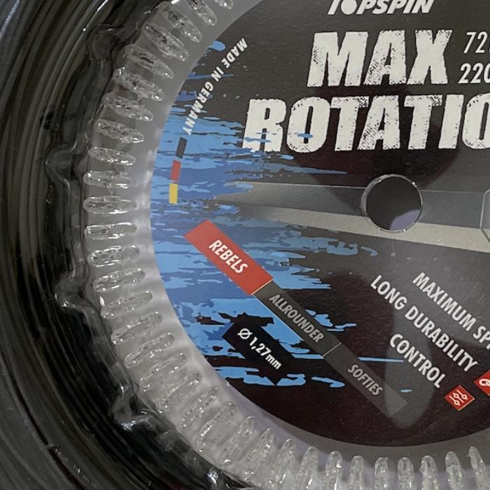 Corda Topspin Max Rotation 1,24mm - Rolo com 220m