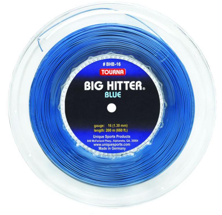 Corda Tourna Big Hitter Blue 1,25mm – Rolo com 200m