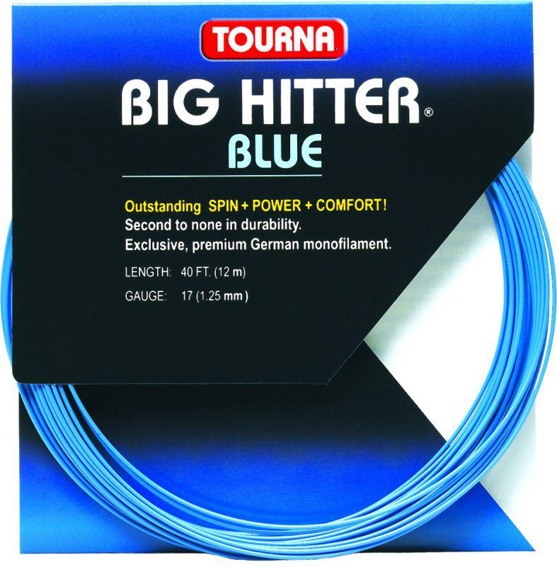 Corda Tourna Big HItter Blue 1,25mm - Set Individual