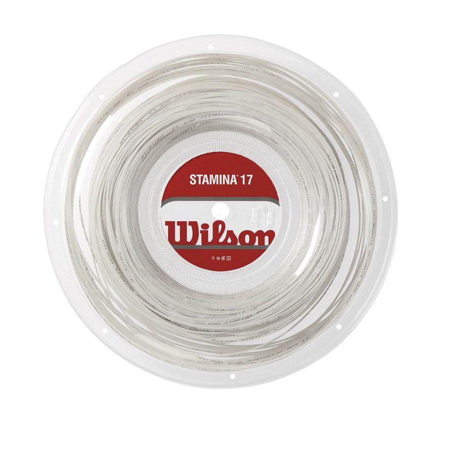 Corda Wilson Stamina 17 1.25mm Branca - Rolo com 200m
