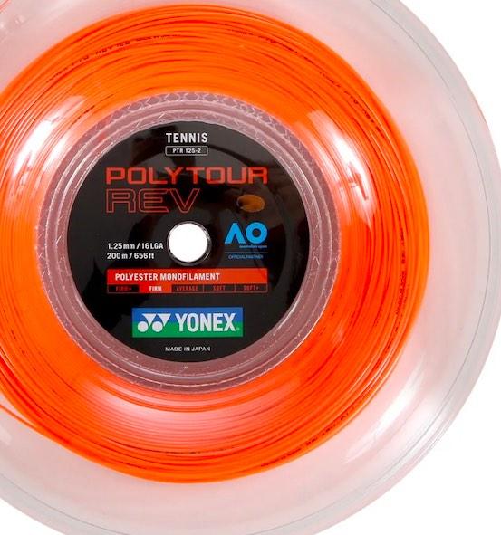 Corda Yonex Poly Tour Rev 1,25mm - 1 Set