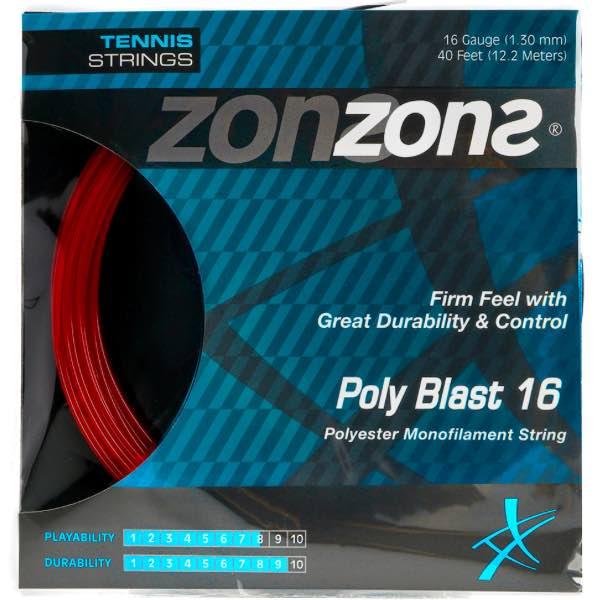 Corda Zons Poly Blast 16 1,30mm – Set Individual