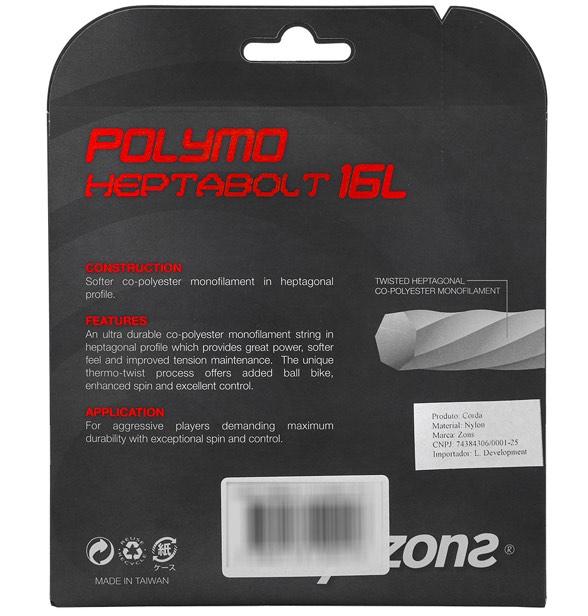 Corda Zons Polymo Heptabolt 16 1,30mm – Set Individual