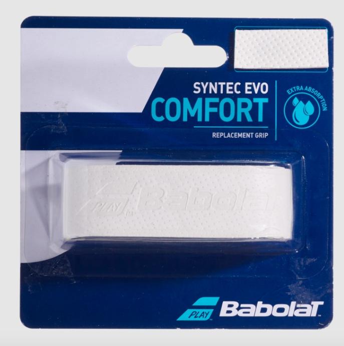Cushion Grip Babolat Syntec Evo Comfort- Branco