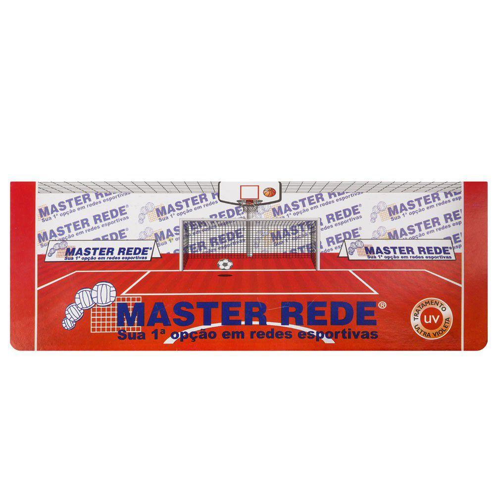 Faixa Central Master Rede com Mosquetão para quadra de Tênis