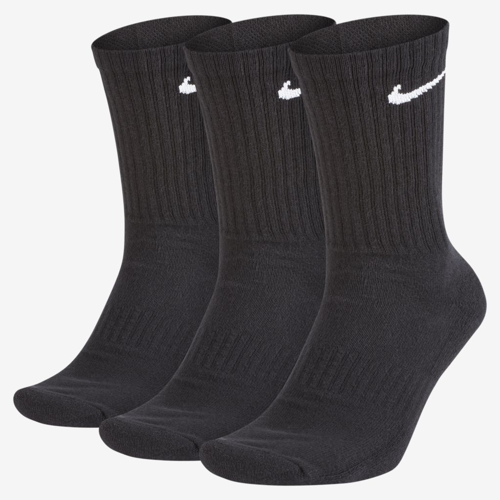 Meia Nike Everyday Cotton Cushion Crew – 3 Pares (39-43)