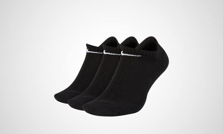 Meia Nike Everyday Cushion (3 pares) - Preta