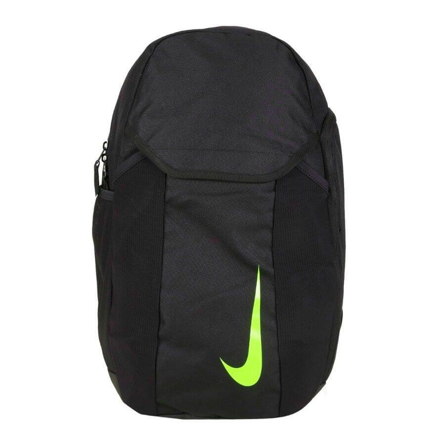 Mochila Nike Academy - Preto/Verde Limão