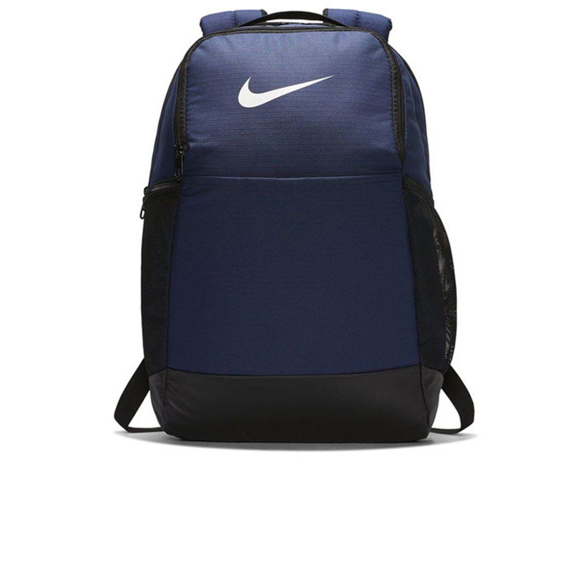 Mochila Nike Brasilia 24L ( Média) - Azul Marinho