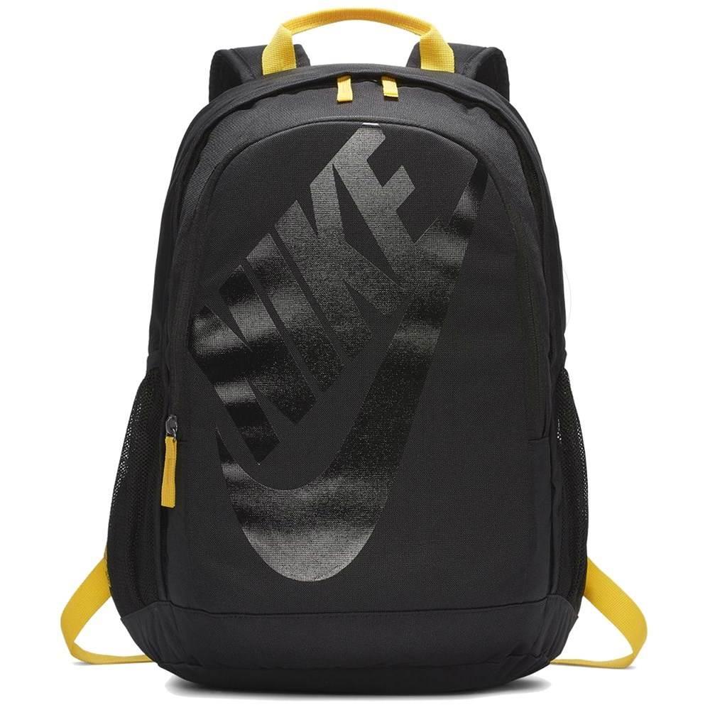 Mochila Nike Hayward Futura 25L - Preto/Amarelo