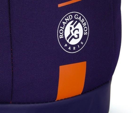 Mochila Wilson Roland Garros Team Azul Marinho/Marrom