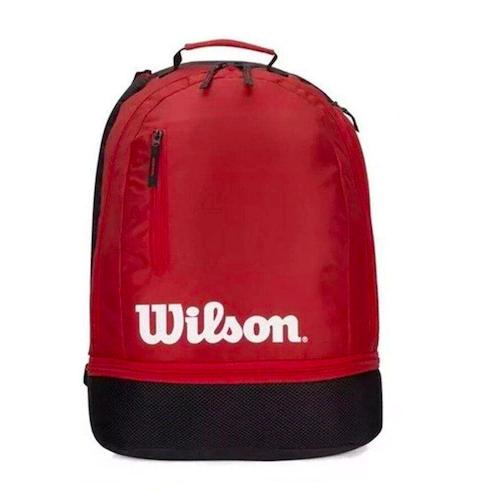 Mochila Wilson Team Backpack - Preto e Vermelho