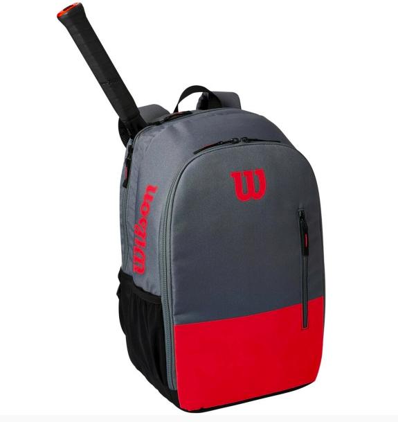 Mochila Wilson Team Backpack - Vermelho e Cinza