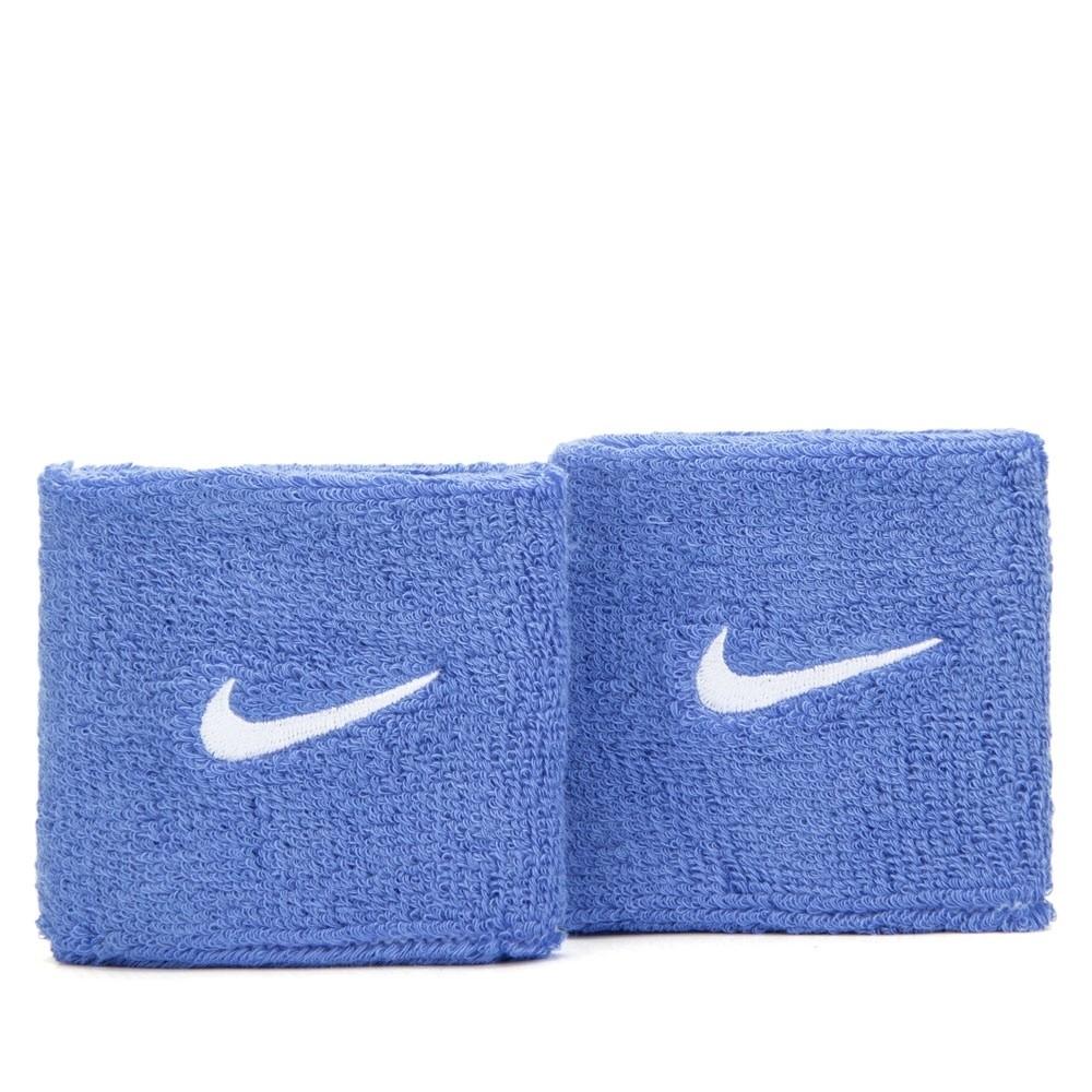 Munhequeira Nike Swoosh Pequena - Azul - 01 Par