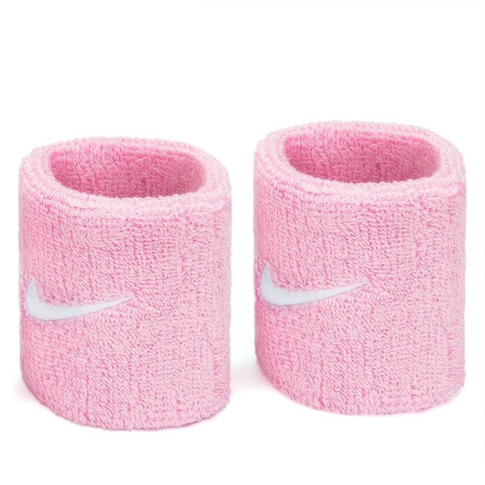 Munhequeira Nike Swoosh Pequena - Rosa - 01 Par