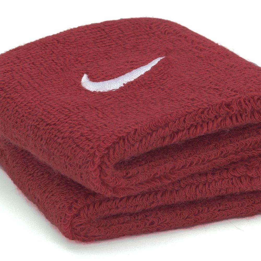 Munhequeira Nike Swoosh Pequena - Vermelho - 01 Par