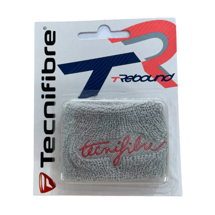 Munhequeira Tecnifibre T Rebound Cinza - 1 unidade