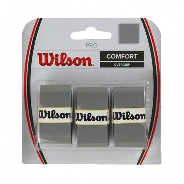 Overgrip Wilson Pro Cinza -  3 Unidades