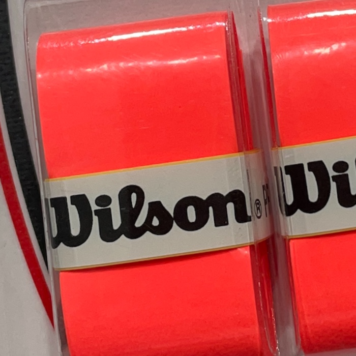 Overgrip Wilson Pro Laranja Fluorescente-  3 Unidades