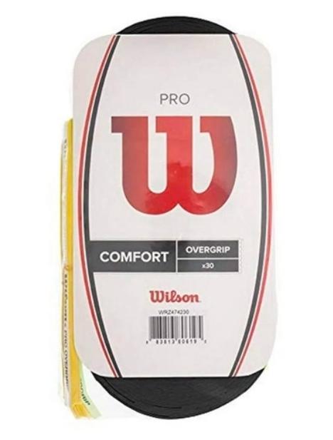 Overgrip Wilson Pro Preto-  30 Unidades