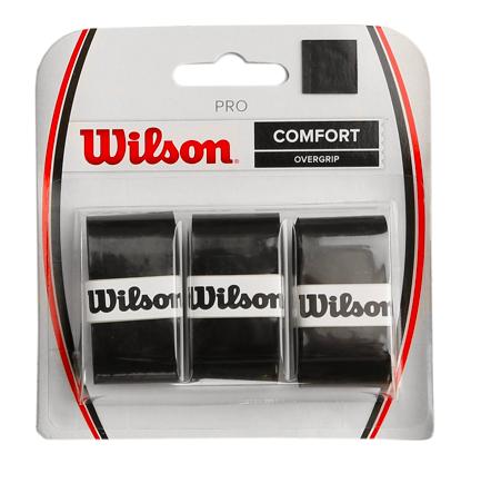 Overgrip Wilson Pro Preto-  3 Unidades