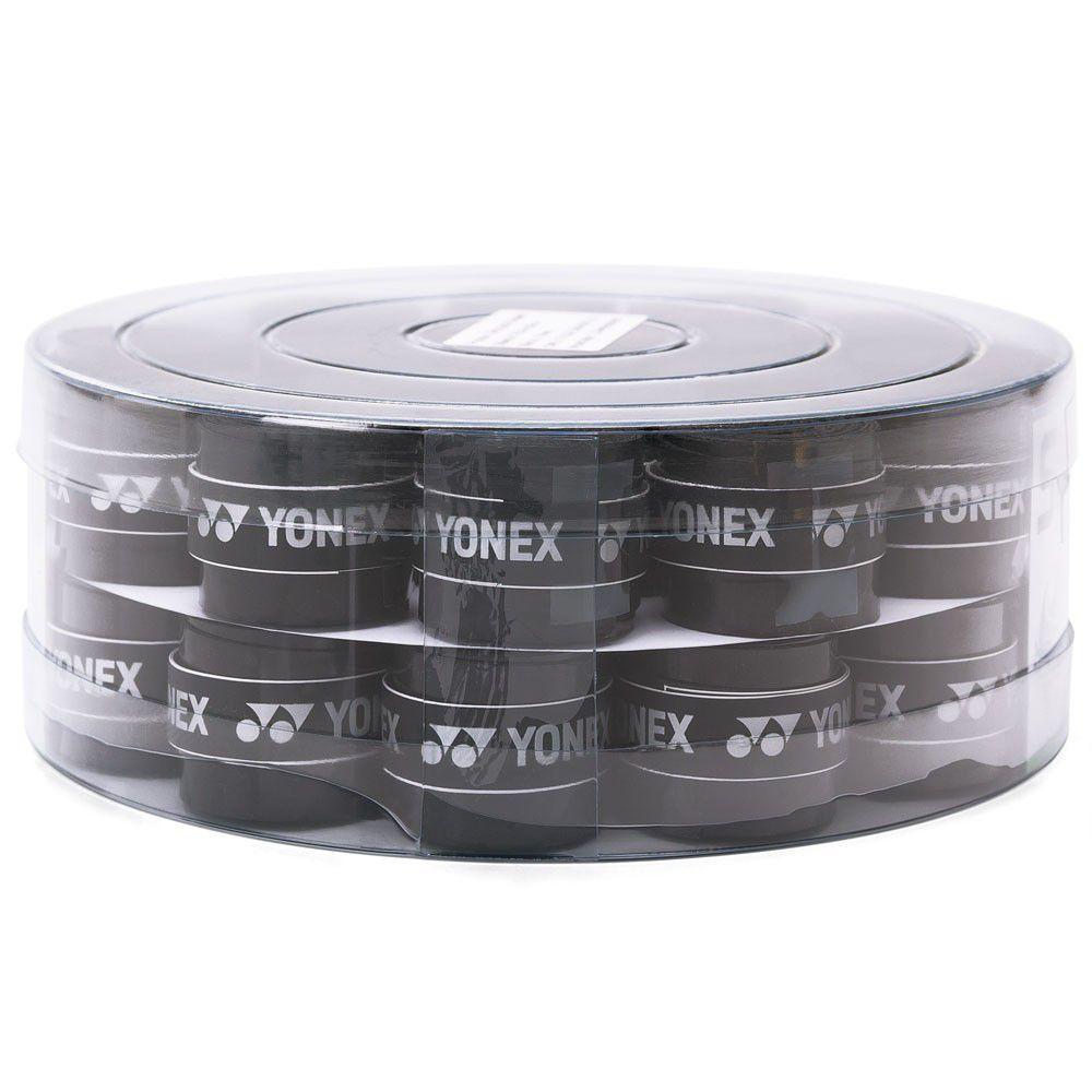 Overgrip Yonex Super Grap Preto - Pote com 36 Unidades