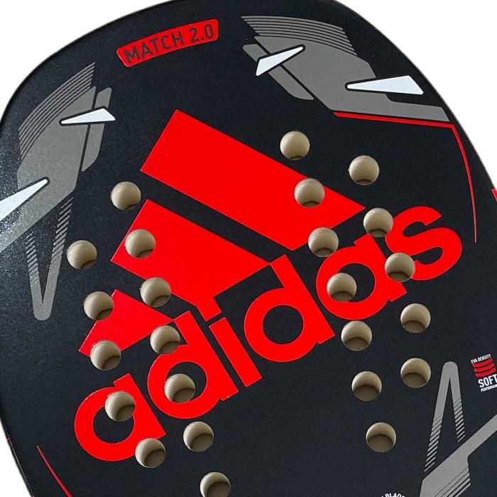 Raquete de Beach Tennis Adidas Match 2.0 Vermelho