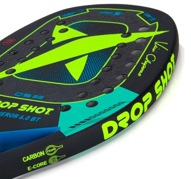 Raquete de Beach Tennis Drop Shot Conqueror 6.0 BT