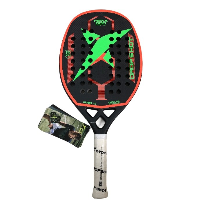 Raquete de Beach Tennis Drop Shot Hexagon Pro BT