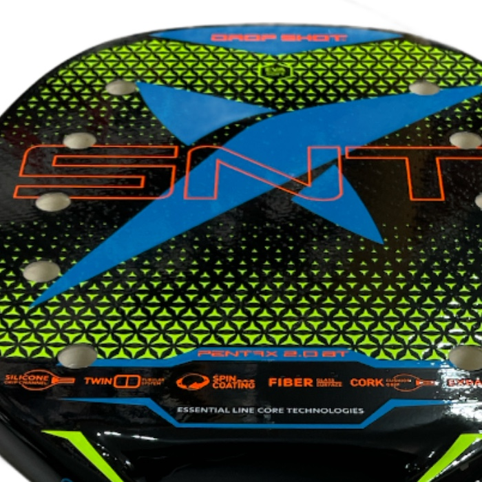 Raquete de Beach Tennis Drop Shot Pentax 2.0 BT