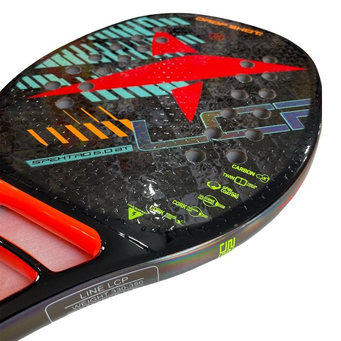 Raquete de Beach Tennis Drop Shot Spektro 6.0 BT