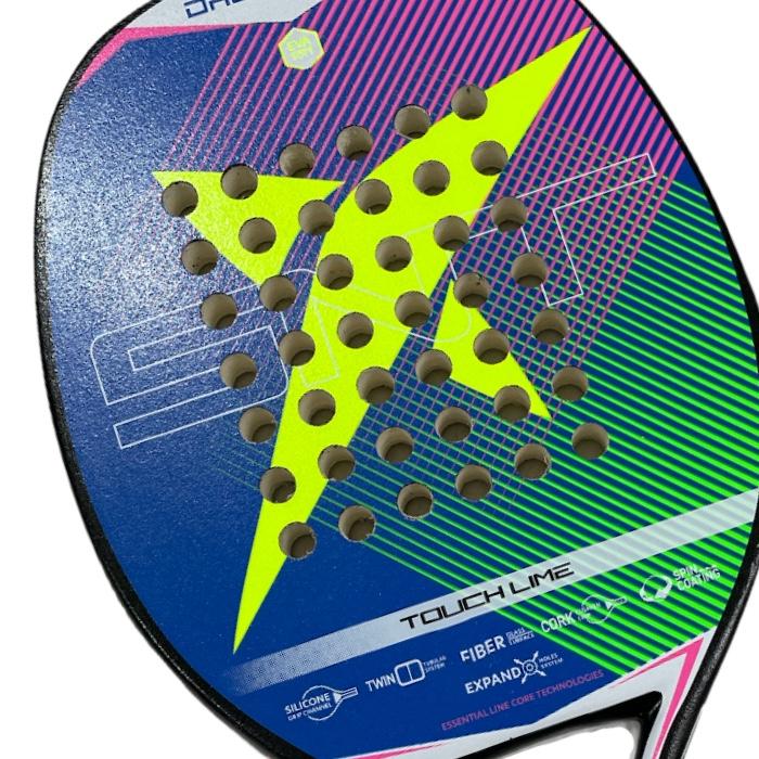 Raquete de Beach Tennis Drop Shot Touch Lime