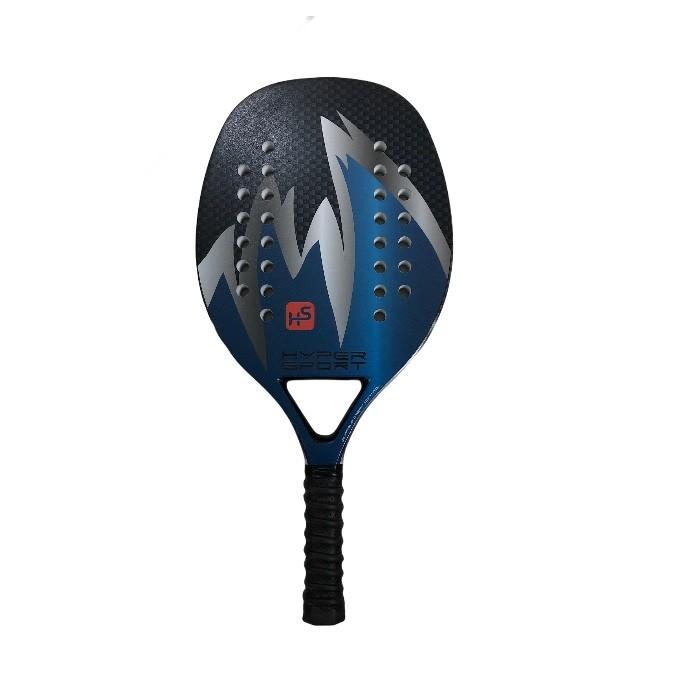 Raquete de Beach Tennis Hyper Sports BTR-4006 Meto Azul