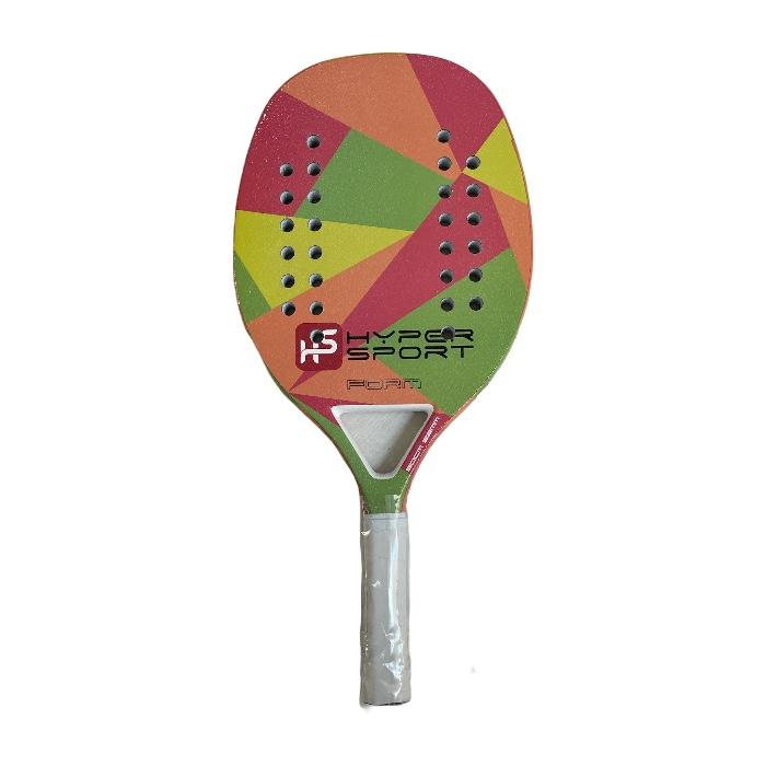 Raquete de Beach Tennis Hyper Sports Form Carbon 3K