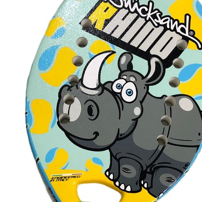 Raquete de Beach Tennis Infantil Quicksand Rhino