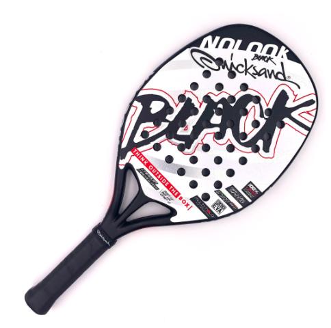 Raquete de Beach Tennis Quicksand Nolook Black 2020