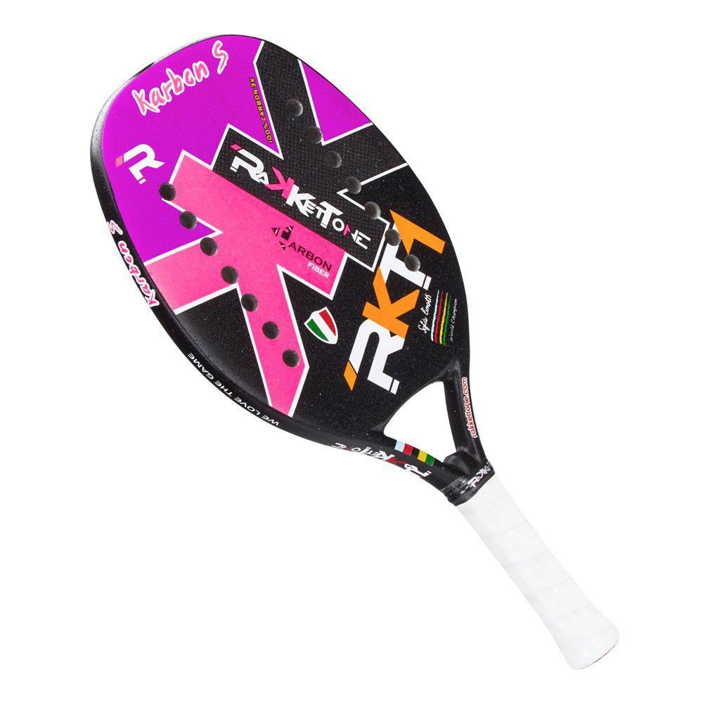 Raquete de Beach Tennis Rakkettone Karbon S