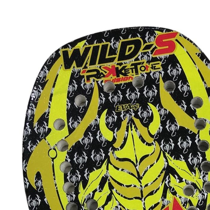 Raquete de Beach Tennis Rakkettone Wild-S
