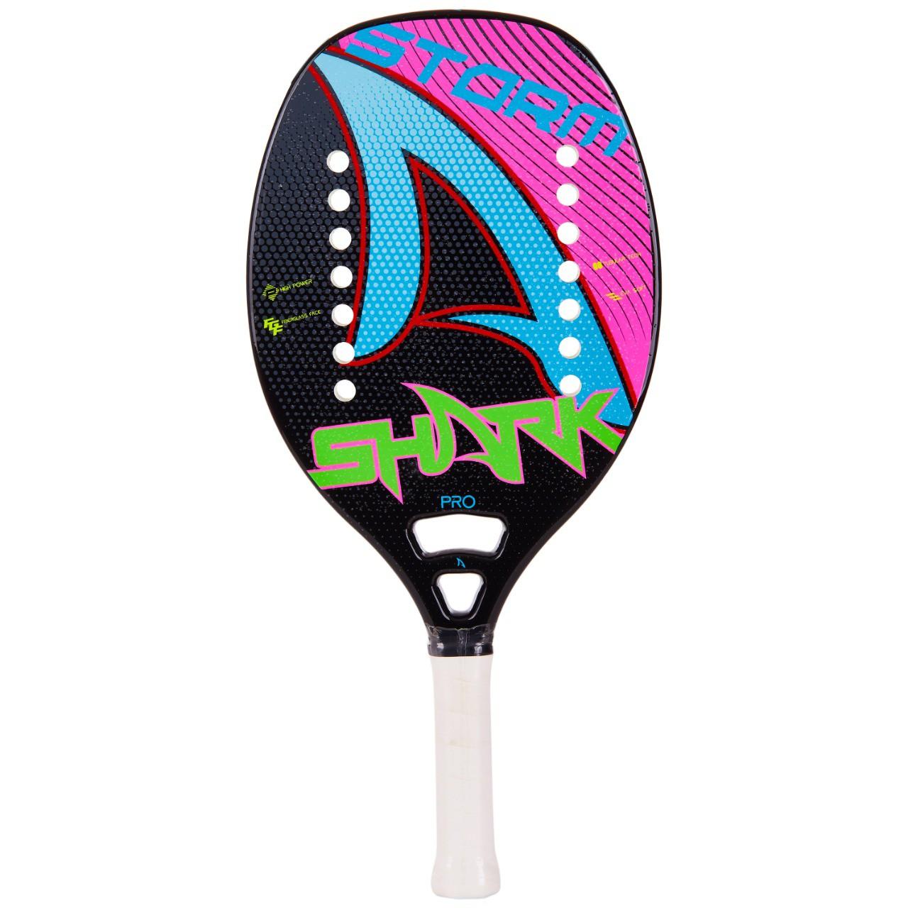 Raquete de Beach Tennis Shark Storm 2021