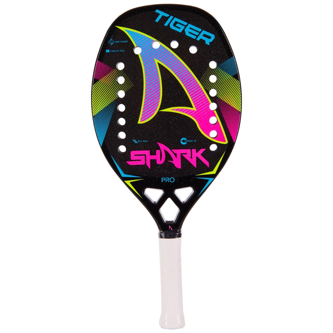 Raquete de Beach Tennis Shark Tiger 2021