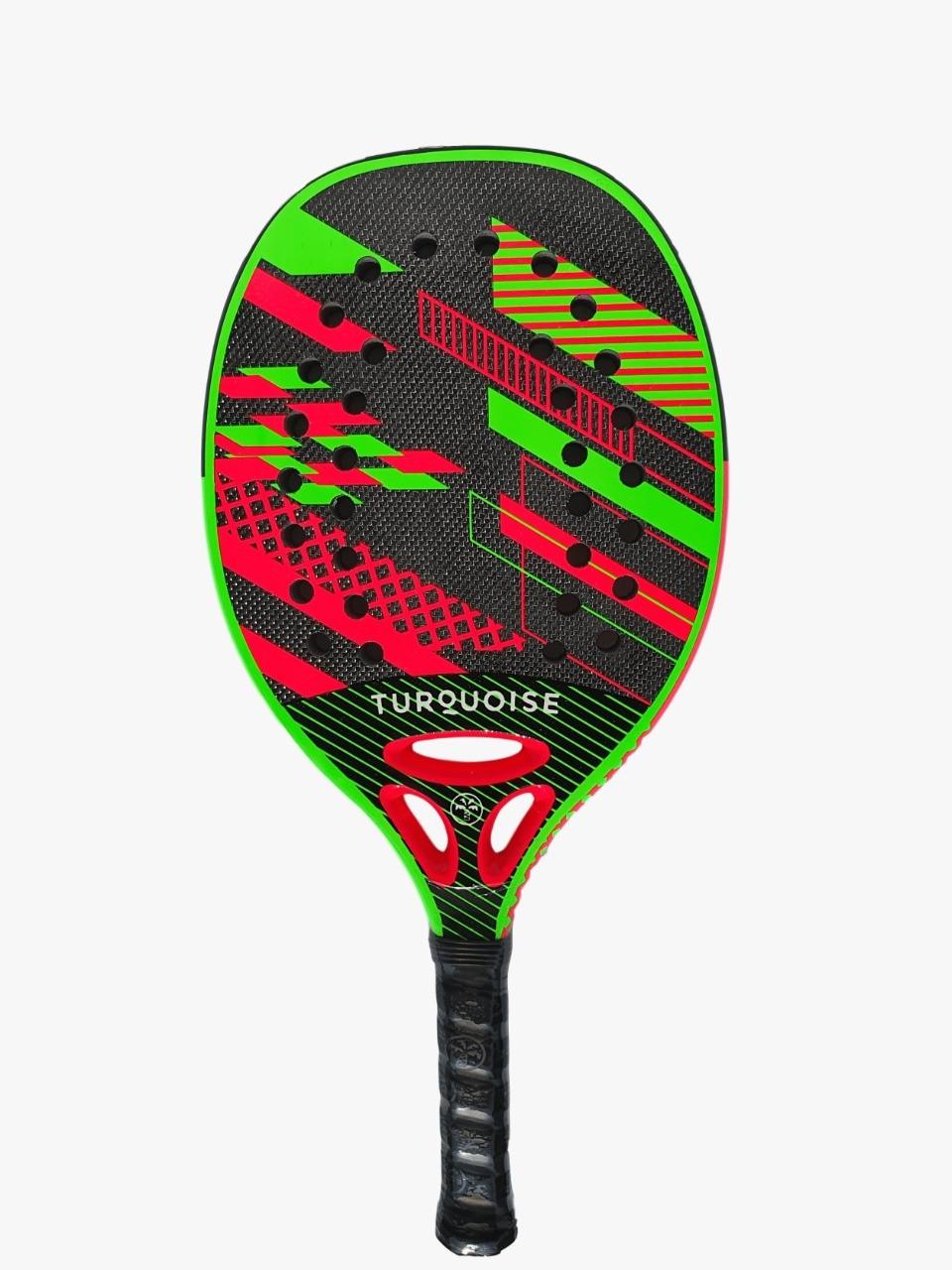 Raquete de Beach Tennis Turquoise Revolution 1.1 2020 Verde