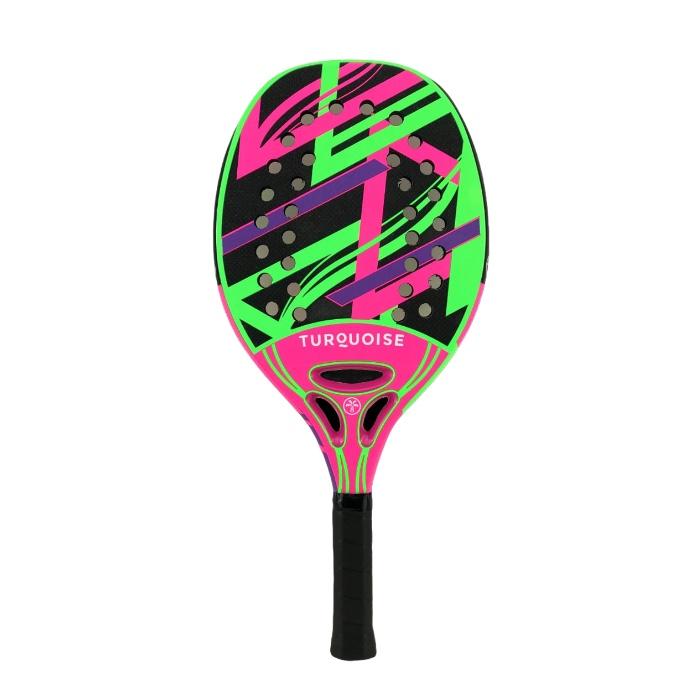 Raquete de Beach Tennis Turquoise Revolution 2.1 Rosa