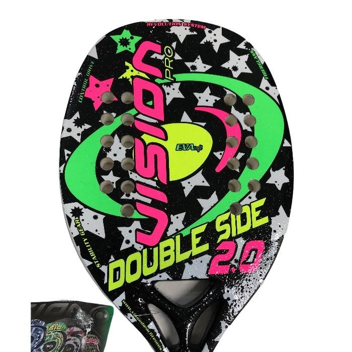 Raquete de Beach Tennis Vision Double Side 2.0