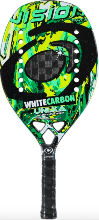 Raquete de Beach Tennis Vision White Carbon