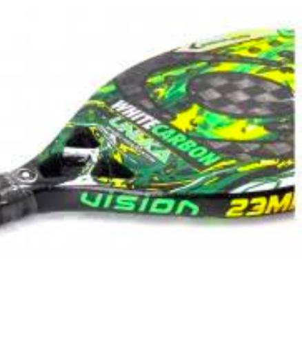 Raquete de Beach Tennis Vision White Carbon