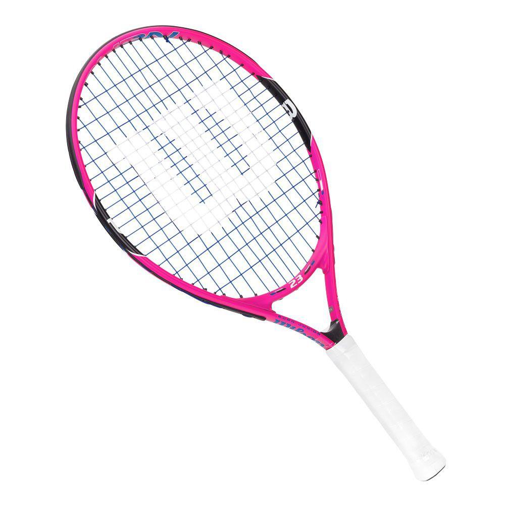 Raquete de Tênis Wilson Burn 23 Pink