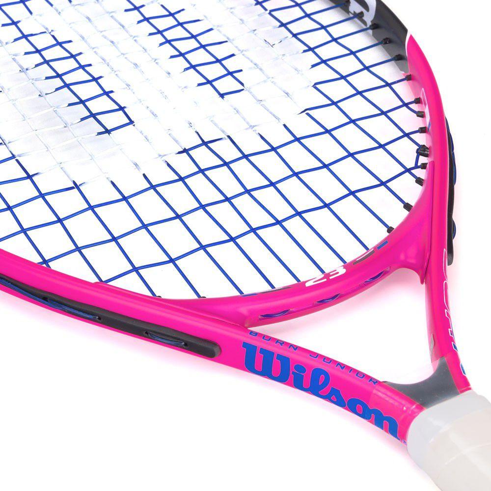 Raquete de Tênis Infantil Wilson Burn 23 Pink