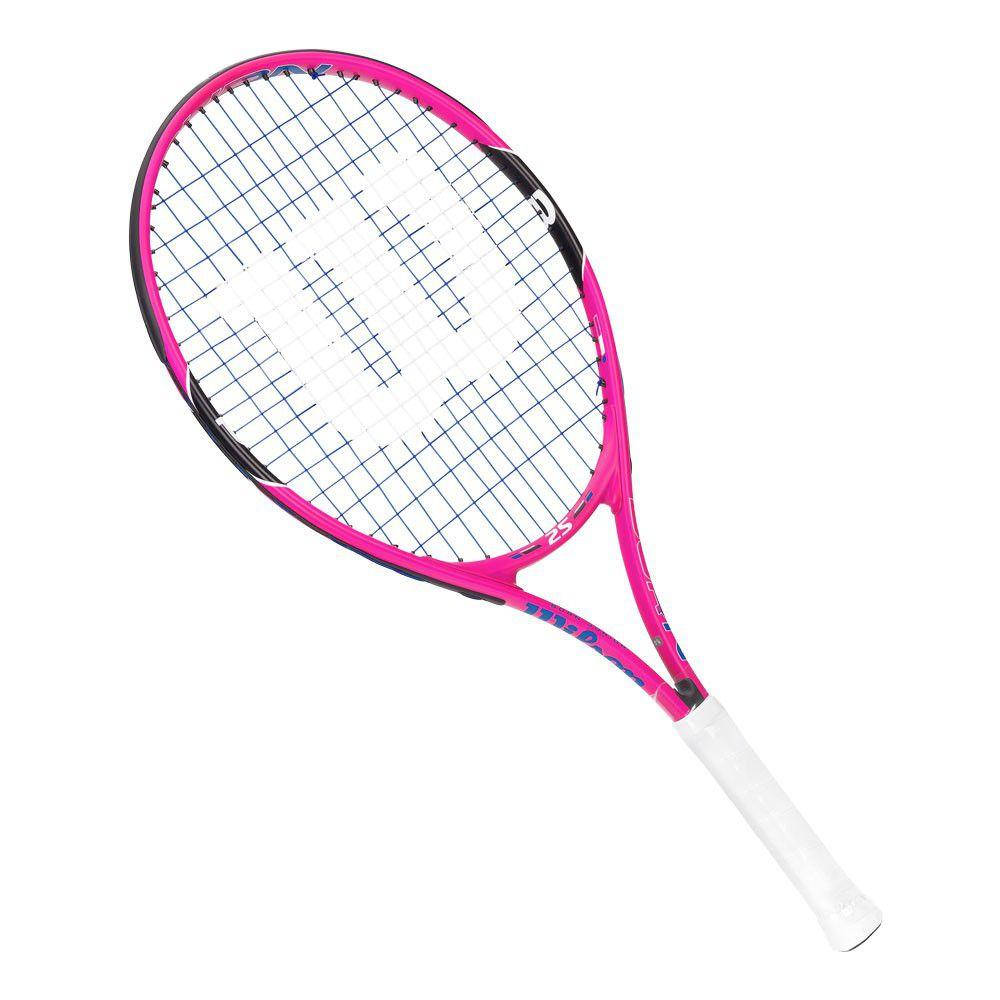 Raquete de Tênis Infantil Wilson Burn 25 Pink