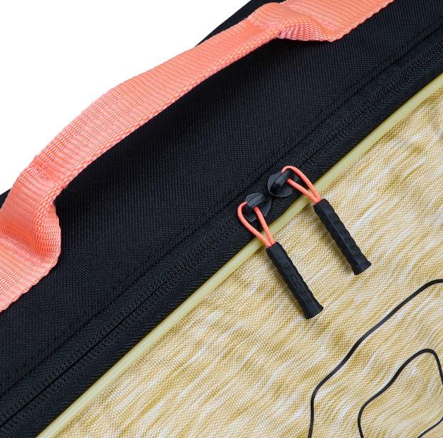Raqueteira Babolat Simples Essential Bege e Preto