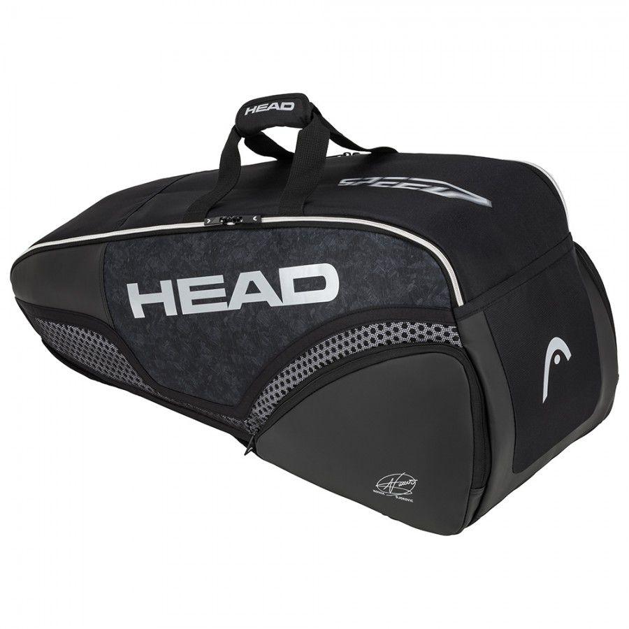 Raqueteira Head Djokovic Combi X6 - Preto